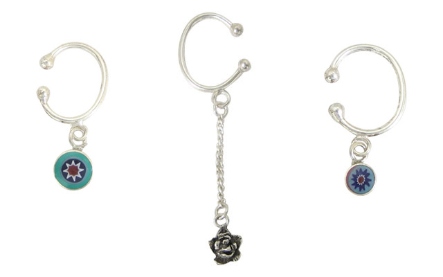 Clip-on Belly Button Rings