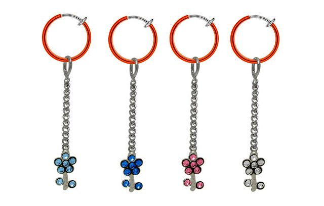 Clip-on Navel Rings